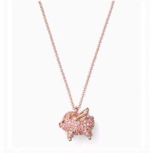 Kate Spade Imagination Flying Pig Necklace